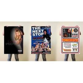 Poster medida 700 x 1000 mm. - 1000 unidades