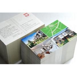 Tarjeta Postal laminado Mate