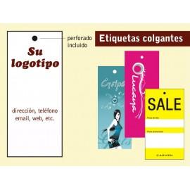 Etiquetas perforadas 1000 UND 20€ IVA INCLUIDO